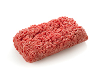 Meat mince of pork, beef or mixed. Frozen meat